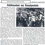 Zum Schützenfest 1952 wurde im wieder freigewordenen Schießstand der Betrieb aufgenommen. Ebenfalls 1952 schlossen sich die Klein Scharreler Schützen der neu gegründeten Schützenvereinigung der Gemeinde Edewecht an. Dieser Schützenvereinigung traten alle damaligen fünf Vereine bei. Zum Schützenfest 1952 wurde im wieder freigewordenen Schießstand der Betrieb aufgenommen. Ebenfalls 1952 schlossen sich die Klein Scharreler Schützen der neu gegründeten Schützenvereinigung der Gemeinde Edewecht an. Dieser Schützenvereinigung traten alle damaligen fünf Vereine bei.