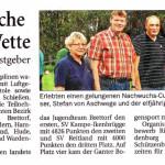 Im September 2011 richtet  Klein Scharrel den Nachwuchscup  des Oldenburger Schützenbundes  (OL Na-Cup) mit über  100 Jugendlichen aus.